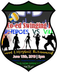 Jun 15th Volleyball Tournament Swinging Pairs 4v4