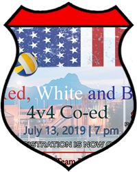 July 13th All-Nighter 4v4 Coed Volleyball Tournament A/B