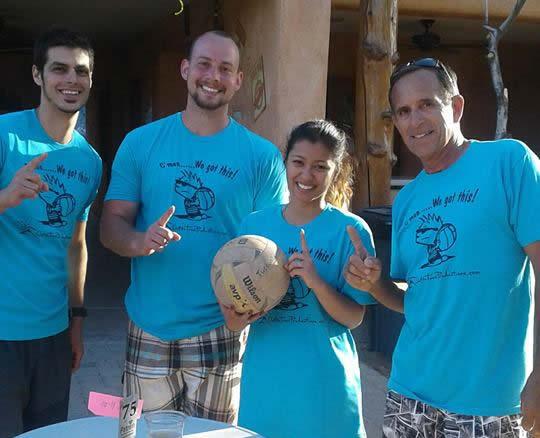 Mar 11th ADA Fundraiser Sand Volleyball Tournament Champions