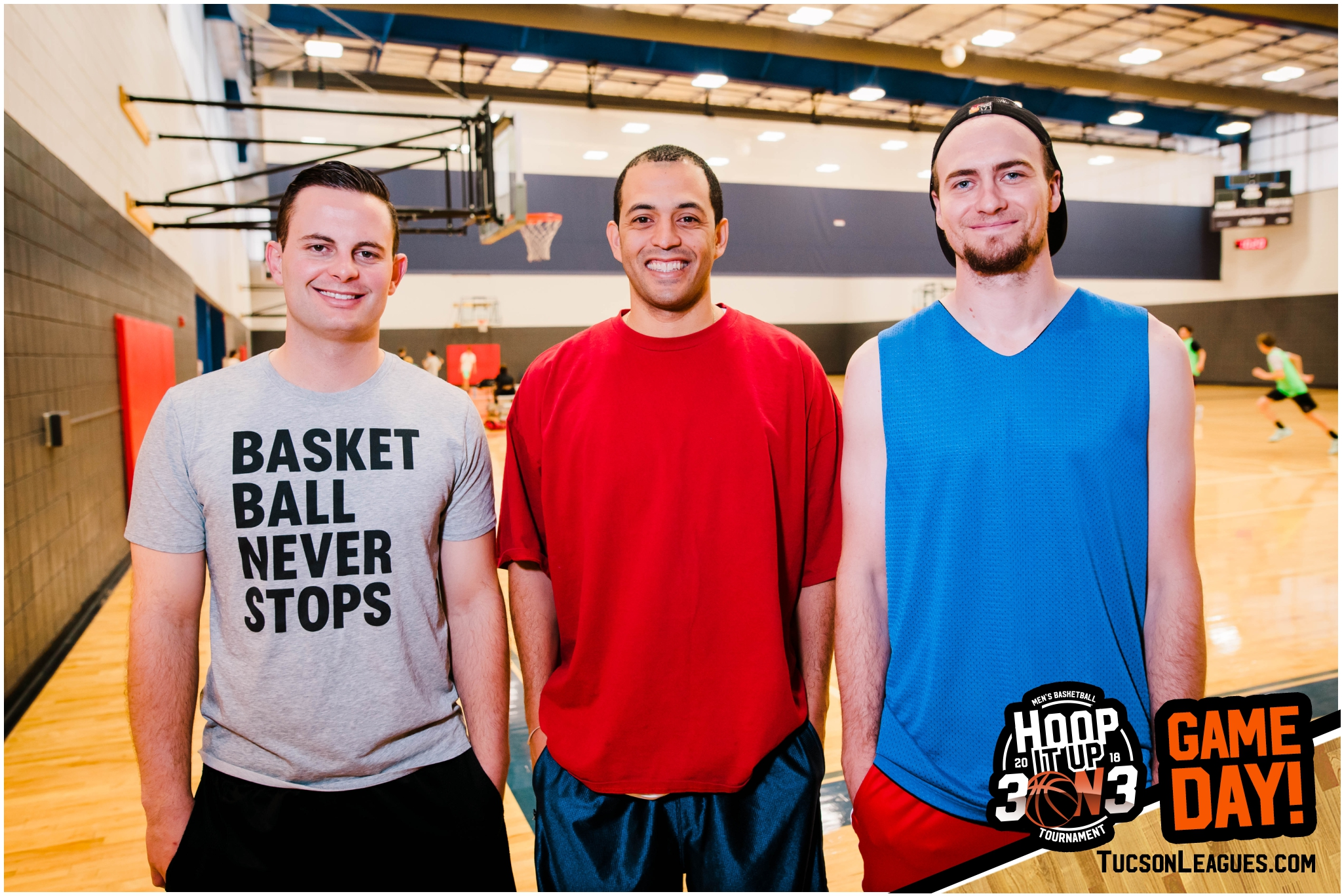 Mar 10th Hoop it Up 3 on 3 Men's Basketball Tournament - Gold, Team: Apex