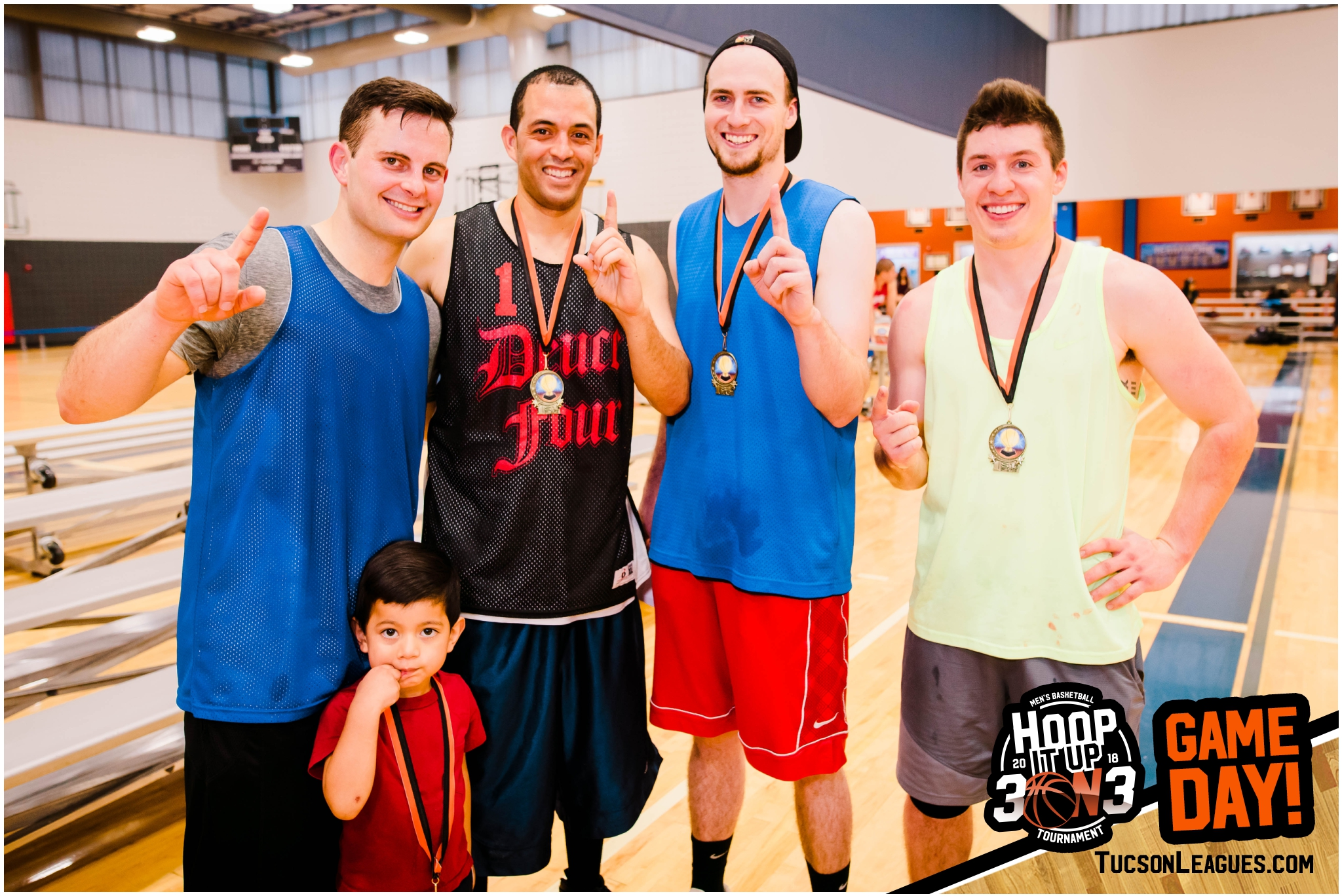 Mar 10th Hoop it Up 3 on 3 Men's Basketball Tournament - Gold Champions