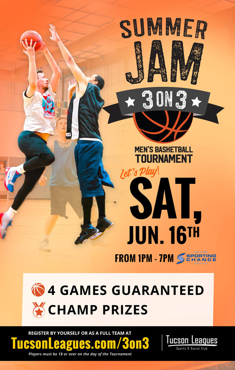 Jun 16th Summer Jam 3 on 3 Men's Basketball Tournament